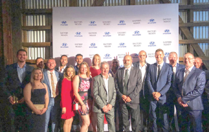 The NSW Platinum Dealer Awards Night sees the Wakeling team recognised!